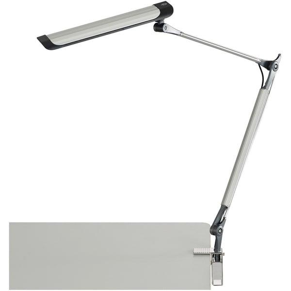 Safco Z-Arm LED Desk Lamp - Silver