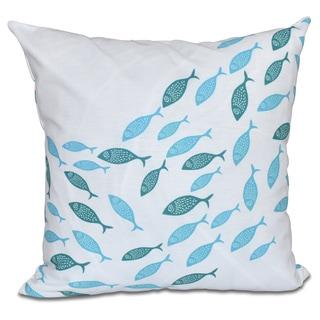 Escuela Animal Print 20 x 20-inch Outdoor Pillow