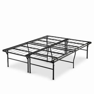 Link to Priage by Zinus 18 inch High Profile SmartBase Black Platform Bed Frame, Full Similar Items in Bedroom Furniture