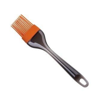 Culinary Edge by Kalorik Orange Silicone Basting Brush