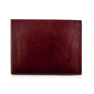 Faddism YL Burgundy Brown Series Men's Leather Bifold Wallet https://ak1.ostkcdn.com/images/products/11724761/P18644433.jpg?impolicy=medium