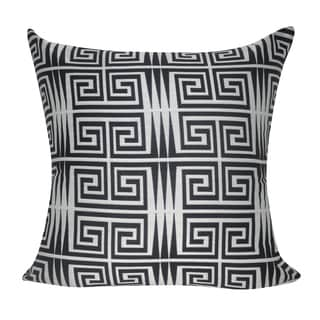 Loom and Mill 22 x 22-inch Greek Keys Decorative Throw Pillow