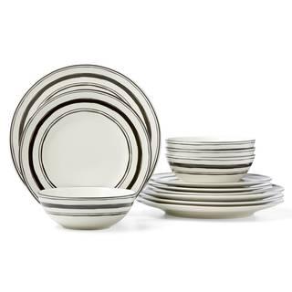 Lenox Around the Table Stripe 12-piece Set