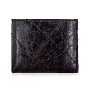 Faddism YL Series Men's Brown Leather Tonal Stitching Bifold Wallet https://ak1.ostkcdn.com/images/products/11724824/P18644511.jpg?impolicy=medium