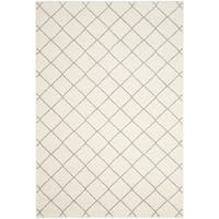 Safavieh Tunisia Ivory/ Light Grey Rug - 5' 1 x 7' 6