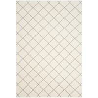 Safavieh Tunisia Ivory/ Light Grey Rug - 6' 7 x 9' 2