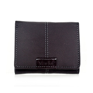 Faddism YACHT Series Men's Dark Brown Leather Trifold Wallet