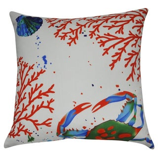Loom and Mill 21 x 21-inch Sea Life Decorative Throw Pillow