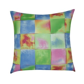 Loom and Mill 21 x 21-inch Geometric Decorative Throw Pillow