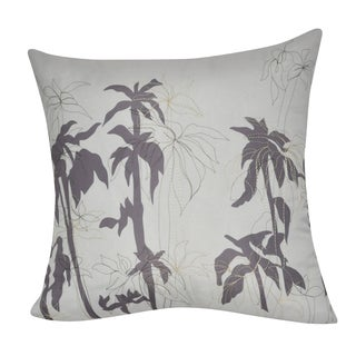 Loom and Mill 21 x 21-inch Palm Decorative Throw Pillow