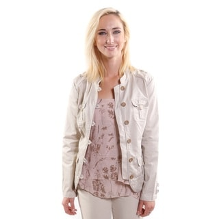 Hadari Women's Military Style Jacket