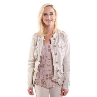 Hadari Women's Military Style Jacket