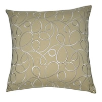 Loom and Mill 20 x 20-inch Swirl Decorative Throw Pillow