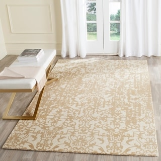 safavieh handmade restoration vintage ivory sand wool distressed rug 5u0027 x