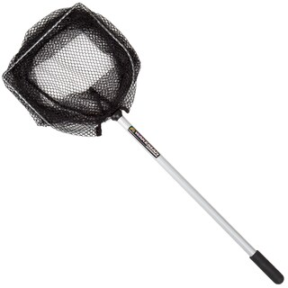 Wakeman Fishing Bait Well Net 8 Inch wide 16 Inch Handle - Black