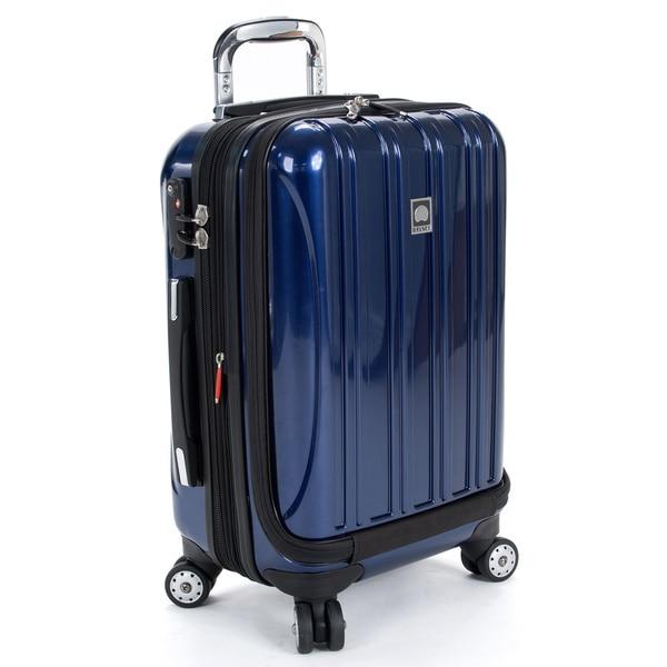 dce32a4ec3 DELSEY Paris Helium Aero Cobalt Blue 19-inch International Carry-On Laptop  Spinner Suitcase