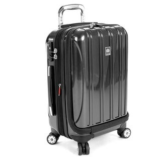 Delsey Helium Aero Titanium 19-inch International Carry-On Laptop Spinner Suitcase