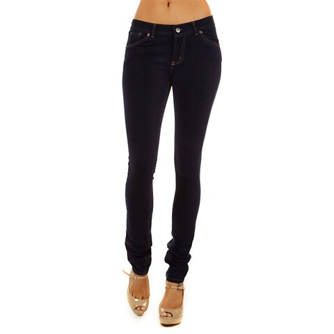 Denim French Terry Junior's Skinny Fit Pull-on Jegging Pants