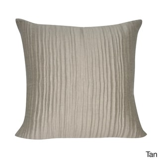 Loom and Mill 22 x 22-inch Ruffled Decorative Pillow