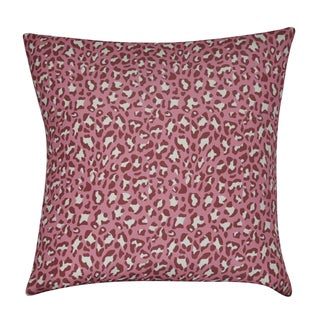 Loom and Mill 22 x 22-inch Leopard Decorative Pillow