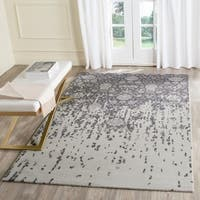 Safavieh Handmade Restoration Vintage Silver/ Grey Wool Distressed Rug - 5' x 8'