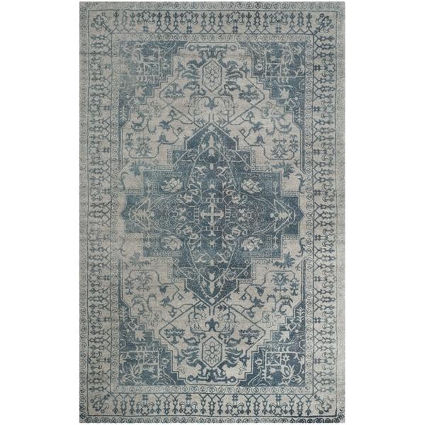 Safavieh Handmade Restoration Vintage Oriental Blue Grey