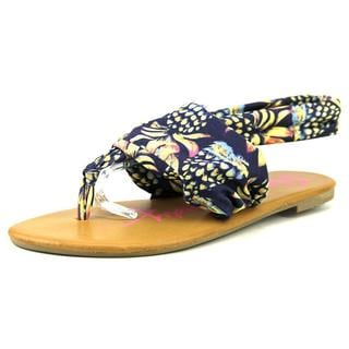 Rock and Candy Women's 'Chillax' Fabric Sandals