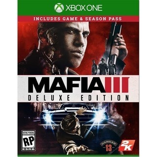 MAFIA III DELUXE EDITION (GAME & CODE FOR SEASON PASS)- XBOX One