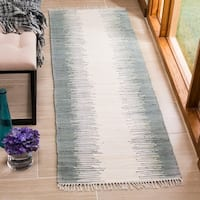 "Safavieh Hand-Woven Montauk Grey Cotton Rug - 2'3"" x 5'"