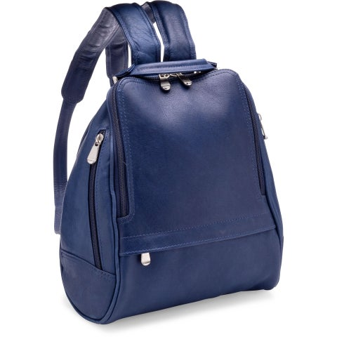 LeDonne Leather U-Zip Mid Size Women's Backpack