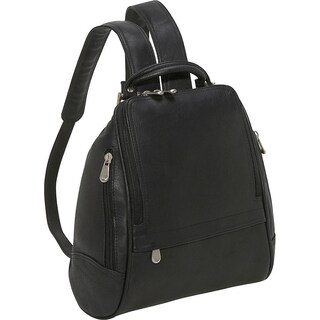 LeDonne Leather U-Zip Mid Size Women's Backpack (5 options available)