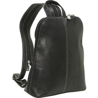 LeDonne Leather U-Zip Womans Sling/ Backpack (Option: Black)