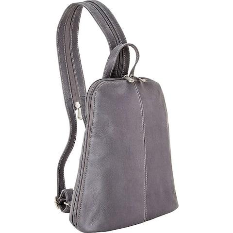 LeDonne Leather U-Zip Womans Sling/ Backpack