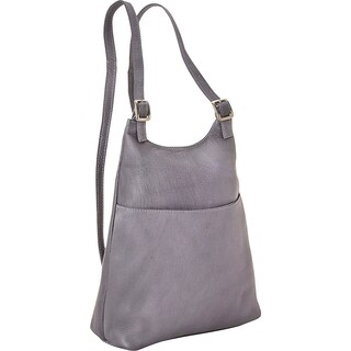 LeDonne Leather Women's Slim Sling Backpack (4 options available)