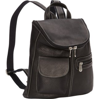 LeDonne Leather Lafayette Classic Backpack (Option: Black)