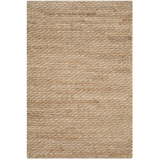 Safavieh Casual Natural Fiber Hand-Woven Natural Jute Rug (2' 6 x 4')