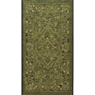 Safavieh Palazzo Black/ Cream Rug (2' x 3' 6)