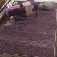 Safavieh Paradise Modern Purple/ Multicolored Viscose Rug - 2'7 x 4'