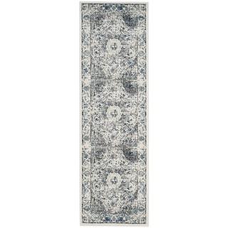 Safavieh Evoke Grey/ Ivory Rug (2' 2 x 9')