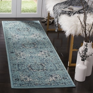 Safavieh Evoke Light Blue/ Light Blue Rug (2' 2 x 9')