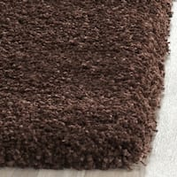 Safavieh Milan Shag Brown Rug - 2' x 4'