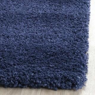 Safavieh Milan Shag Navy Blue Rug (2' x 4')