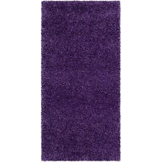 Safavieh Milan Shag Purple Rug - 2' x 4'