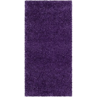 Captivating Safavieh Milan Shag Purple Rug (2u0027 X ...