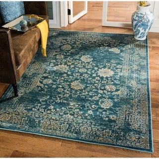 Safavieh Evoke Light Blue/ Beige Rug (2' x 12')