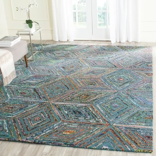 Safavieh Handmade Nantucket Fevzie Contemporary Cotton Rug