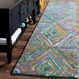 Safavieh Handmade Nantucket Fevzie Contemporary Cotton Rug