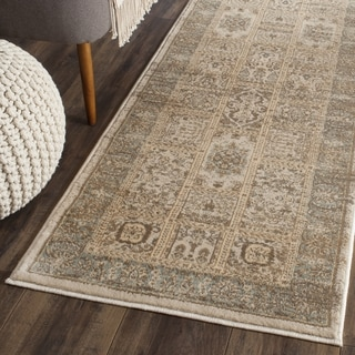 Safavieh Vintage Ivory/ Light Blue Runner (2' 2 x 12')