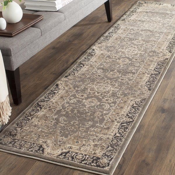 Safavieh Vintage Oriental Taupe Black Distressed Runner