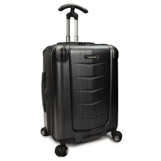 Traveler's Choice Silverwood 21-inch Polycarbonate Hardside Carry On Spinner Suitcase